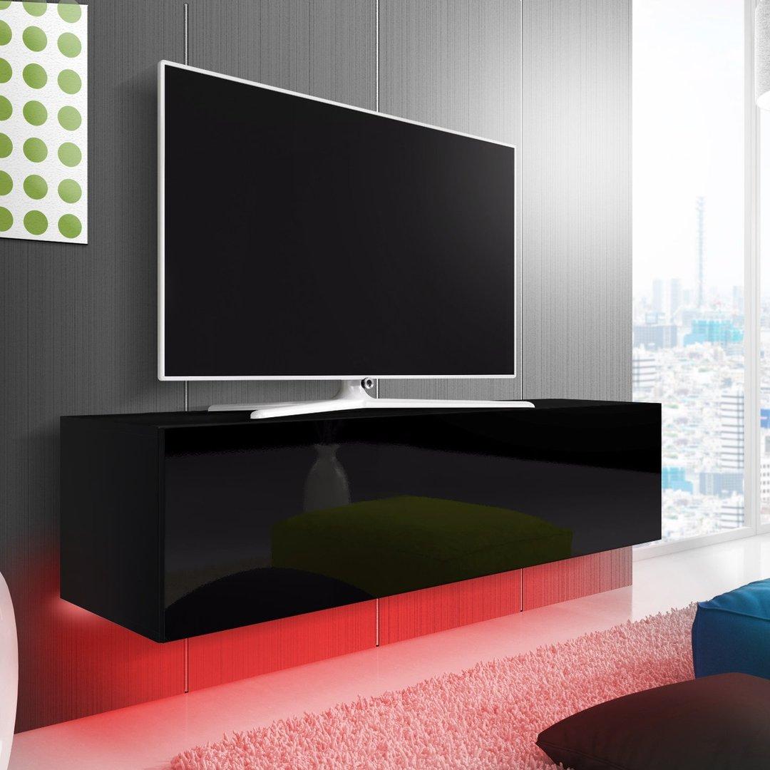 Oxford mobile porta tv moderno con luci a led portatv
