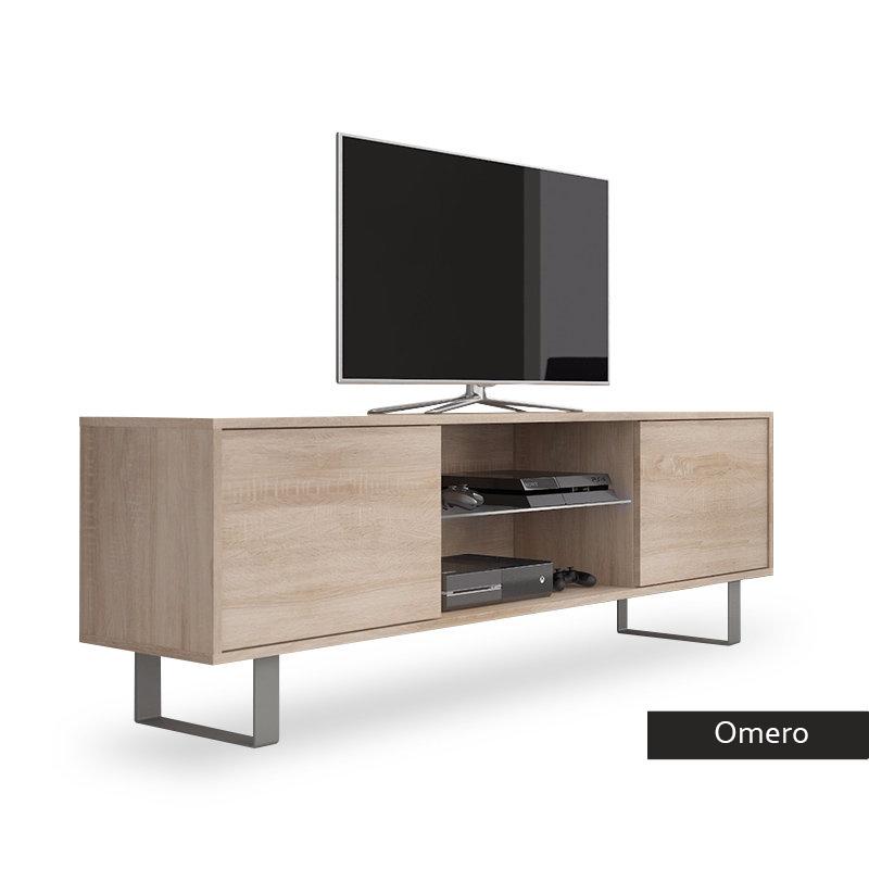 Mobile per tv moderno Omero porta tv in 5 colori portatv