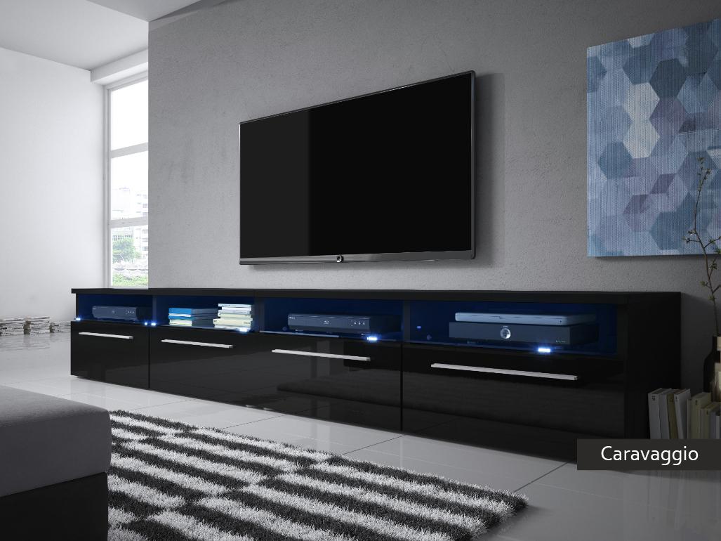 Mobile per televisore Caravaggio porta tv per soggiorno moderno