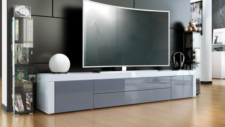 Umago porta tv in 13 colori mobile soggiorno L 200 cm