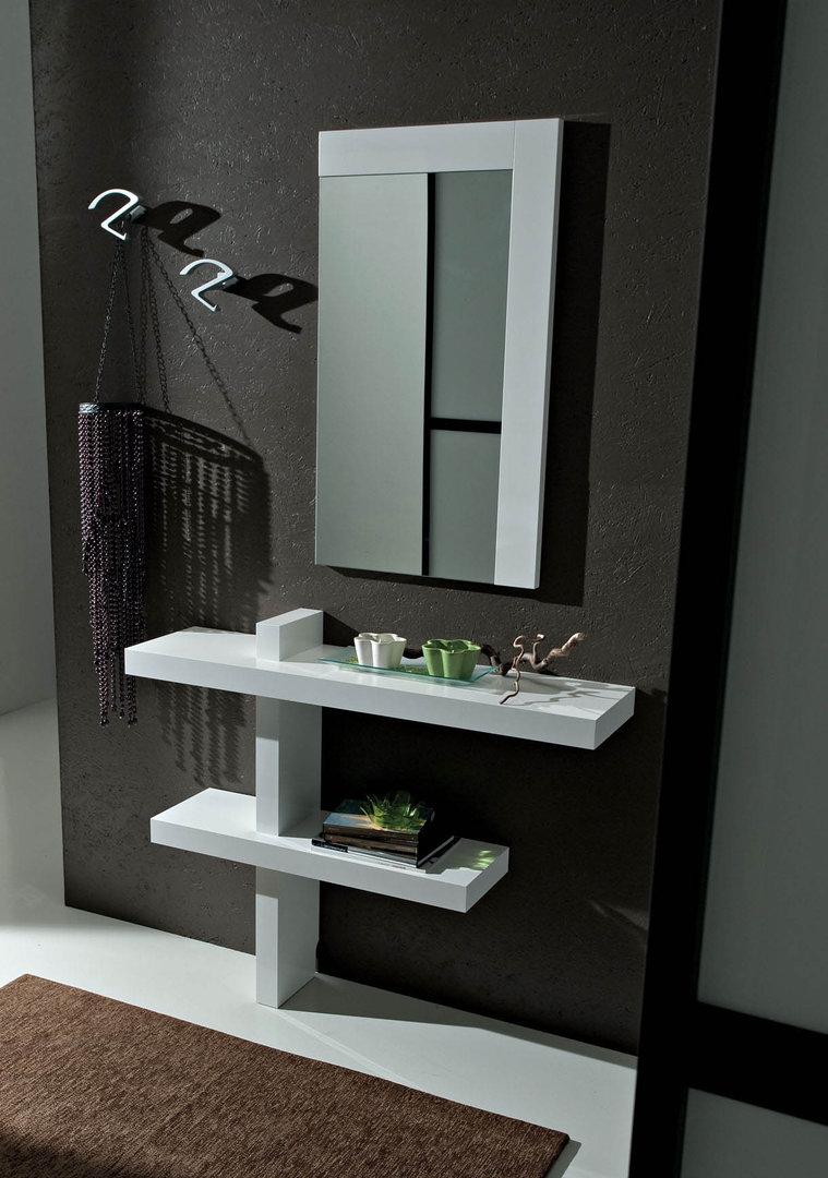 Entrata Lena mobile moderno con specchio per corridoio ingresso  Arredions