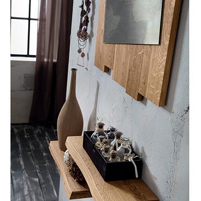 Ingresso in legno massiccio di rovere collezione Adige