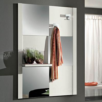 Specchio Arno per ingressocorridoiodisimpegno con mensola