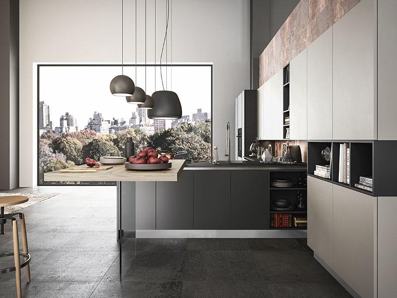 Cucina design con penisola  Arredamento Mobili
