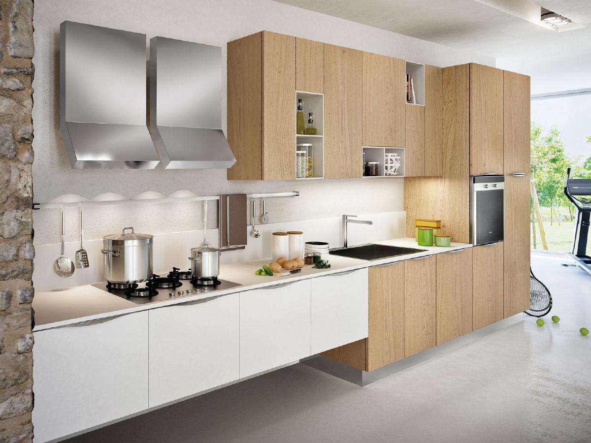 Offerte Cucine Cucina Lineare in Offerta Prezzi  Arredissima