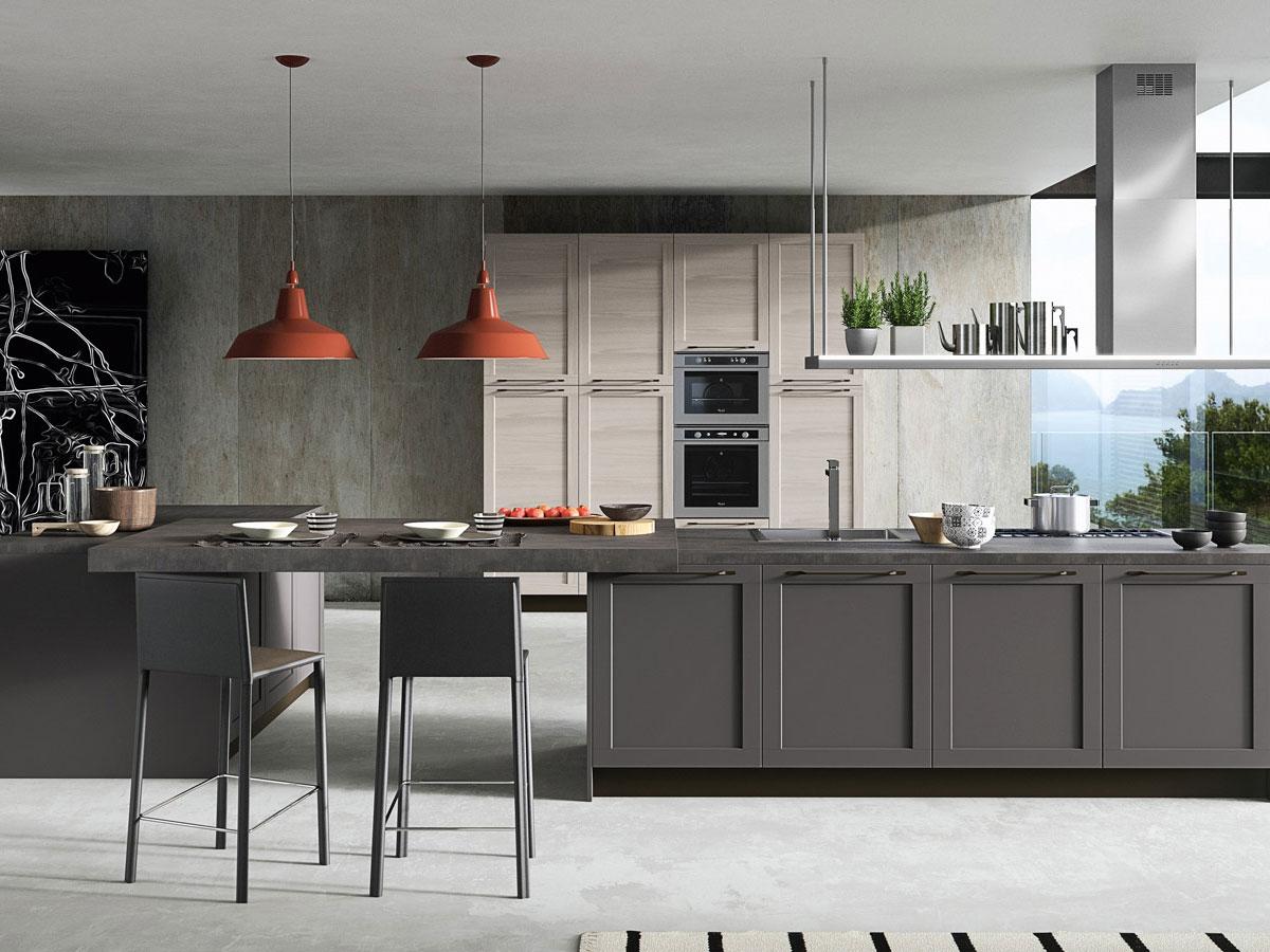 Cucina moderna con doppia isola  Arredamento Mobili