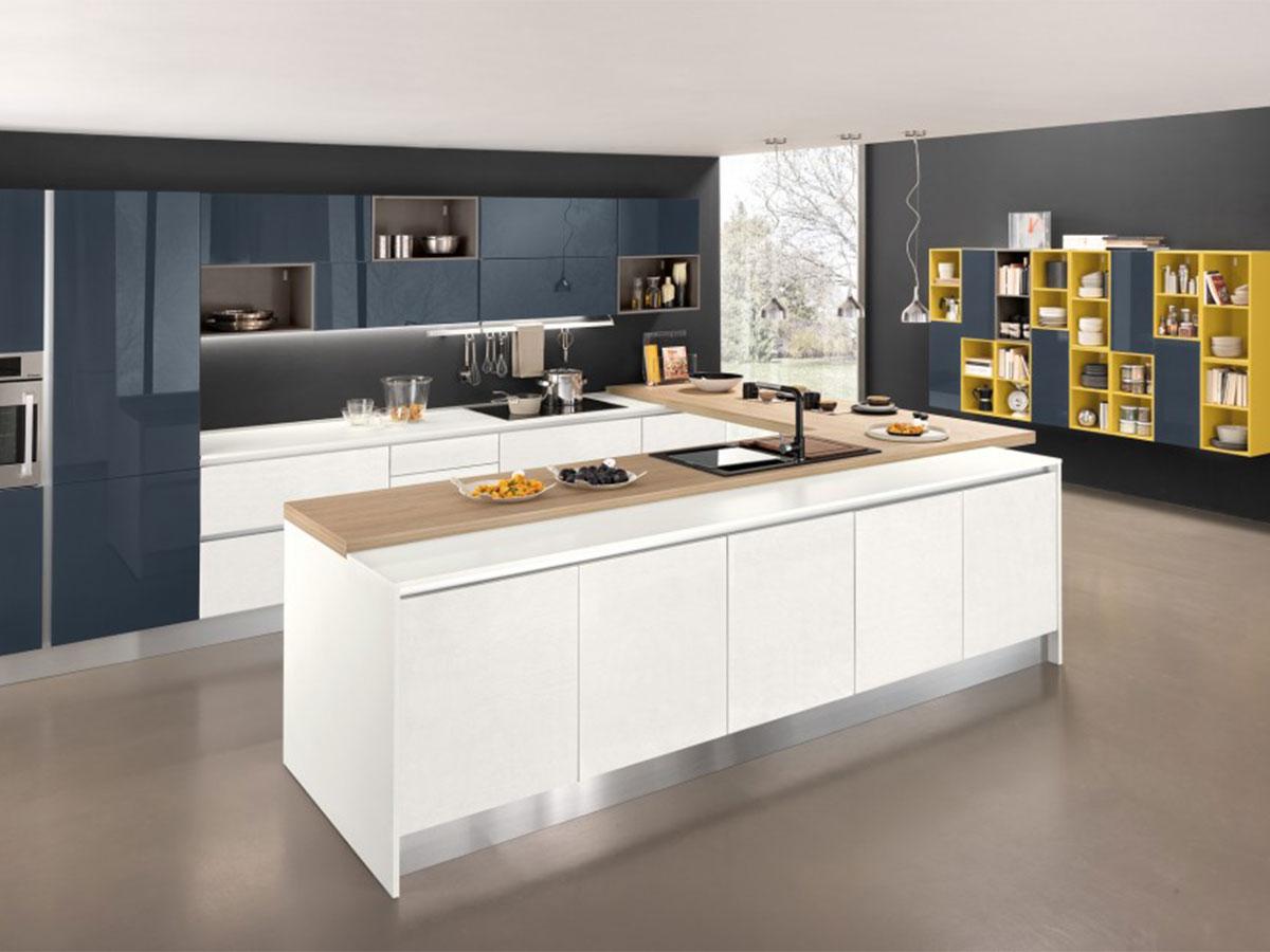 Cucina moderna con penisola  Arredamento Mobili ArredissimA