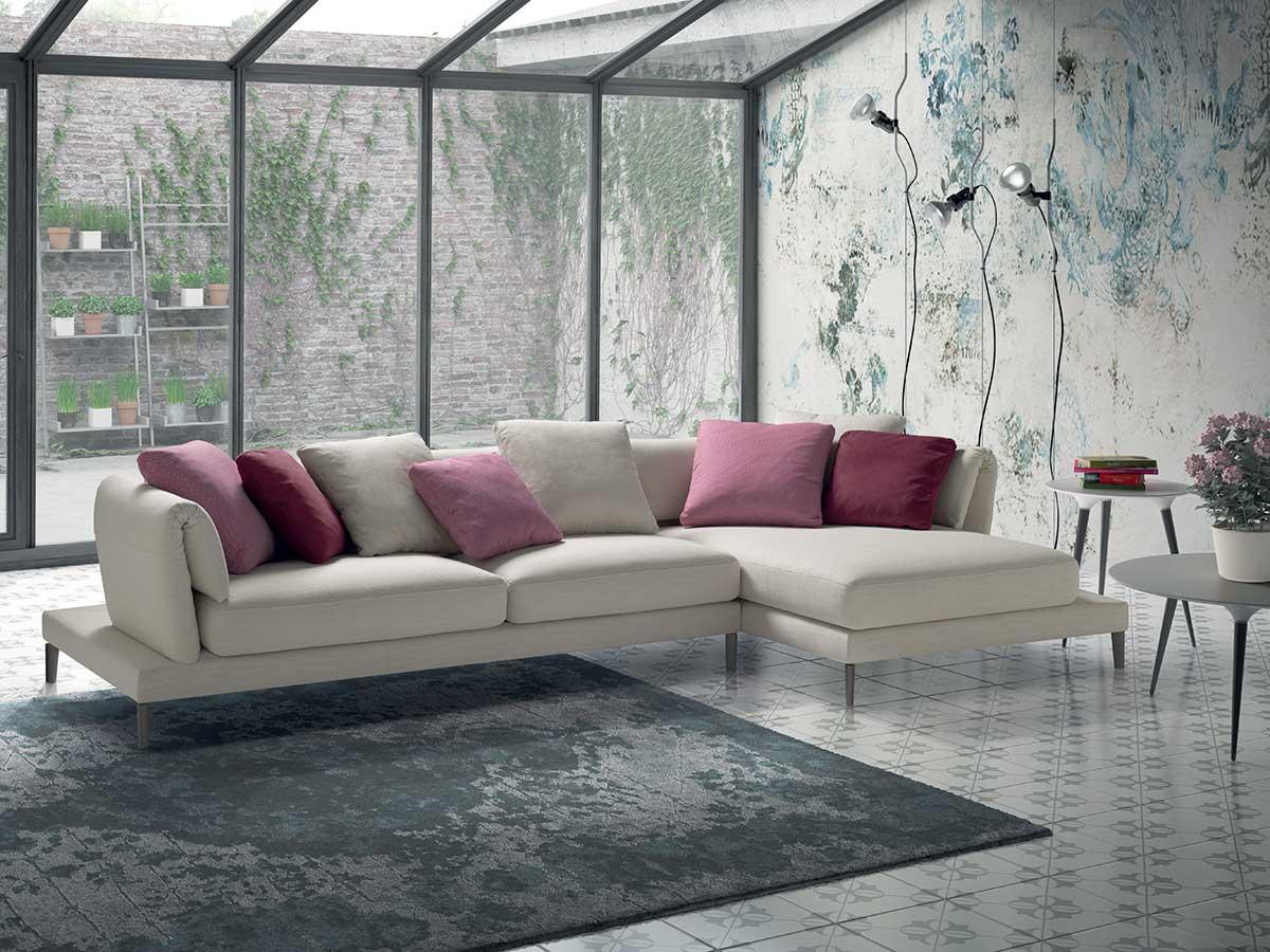 divano con penisola bianco  Arredamento Mobili ArredissimA