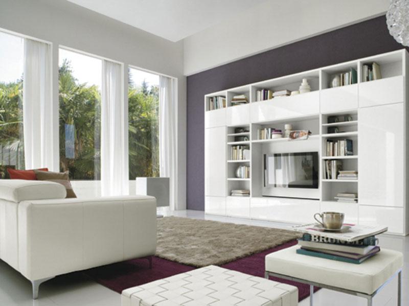 soggiorno bianco classico  Arredamento Mobili ArredissimA