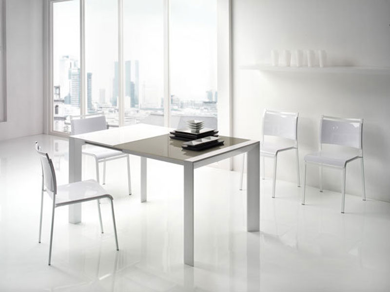 Tavolo bicolore bianco grigio  Arredamento Mobili ArredissimA