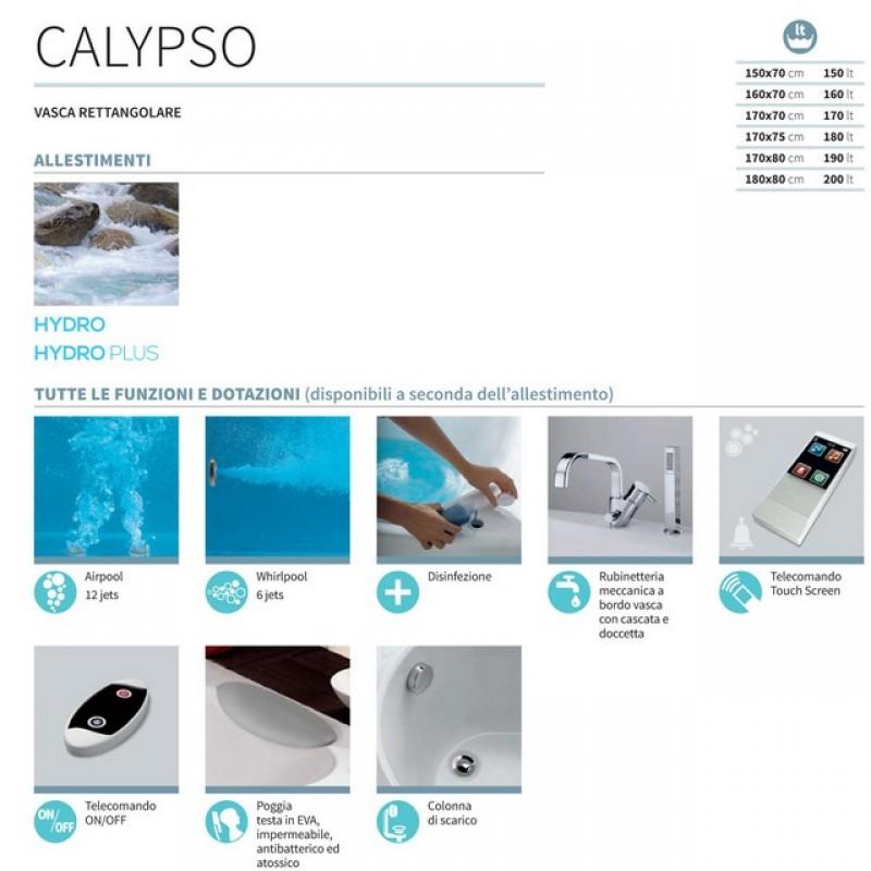 Calypso  Vasche idromassaggio  Vasche da bagno
