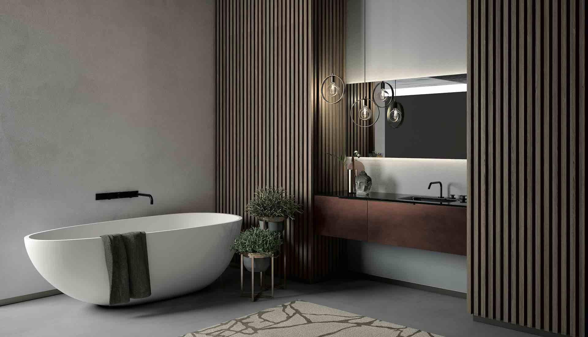 Arredo bagno Puntotre arredamento su misura per il bagno