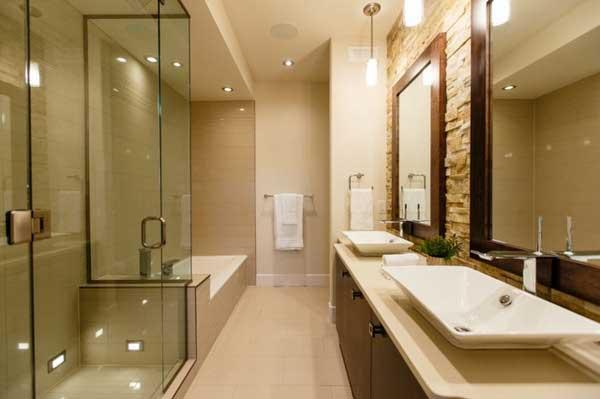 Soluzioni per un bagno stretto  Arredo bagno Torino