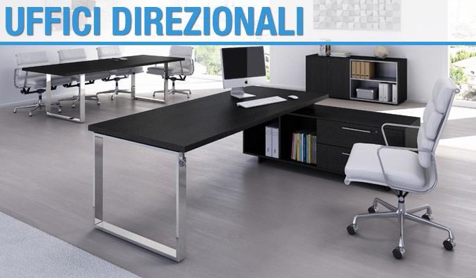 Mobili per ufficio e arredamento studio. Ufficio Direzionale Modello Full Metal Arredo Casa Fvg