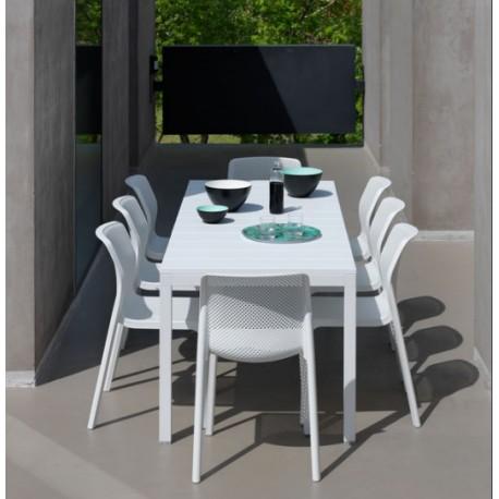 In legno, alluminio o in vetro   acquista su. Set Da Giardino Tavolo Rio 140 E Sedie Bit Di Nardi Vari Colori In Promozione Su Arredocasastore