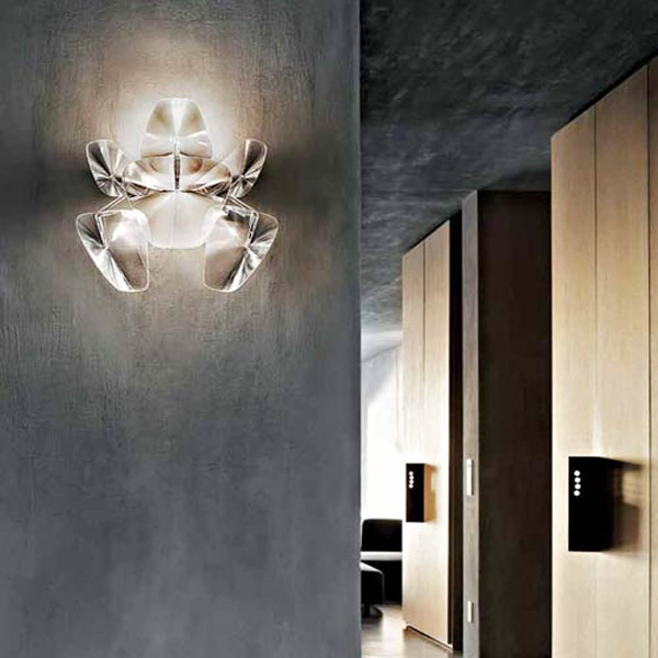Le applique sono lampade da parete discrete e molto decorative, scopri come illuminare casa con le. Luceplan Hope D66 A3 Lampada Di Design Da Parete