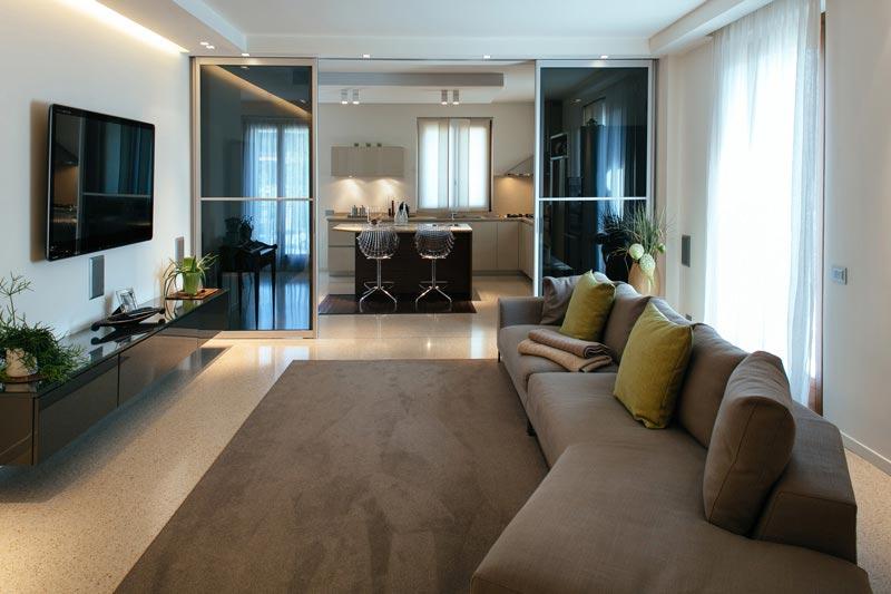 Abitazione verdellino progettazione interni arredolinea for Progettazione interni casa