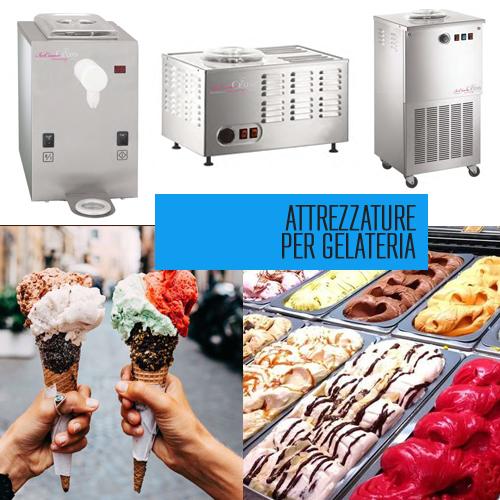 Attrezzature per gelateria
