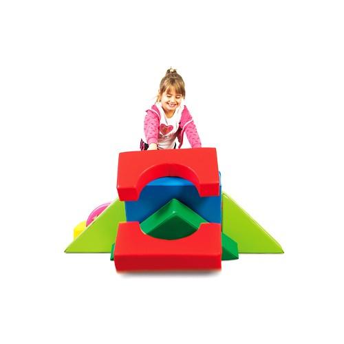 Figure geometriche colorate per Asili maternaArredo per Asili