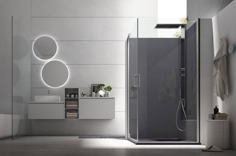 Mobili bagno: il design sospeso fa tendenza