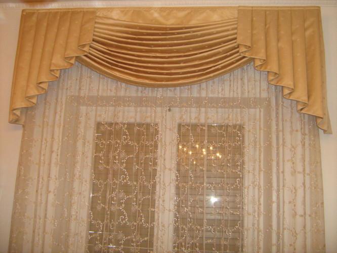 Tenda da interno con drappo  Arredo Tendaggi