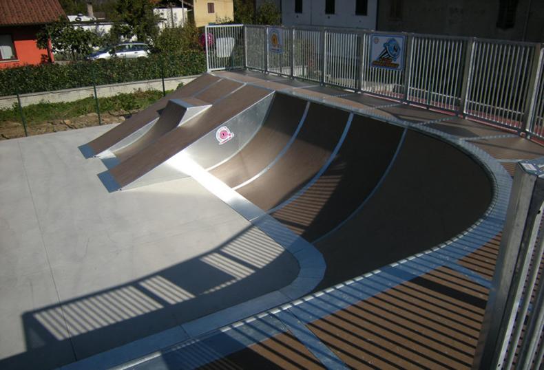 Vendita rampe skatepark  OC SRL
