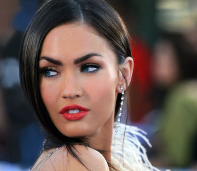 Megan Fox: Antes E Depois Do Photoshop