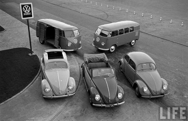 Por Dentro Da Fábrica Da Volkswagen Em 1963