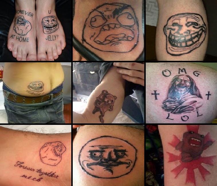 10 Tatuagens Engraçadas de Memes 04