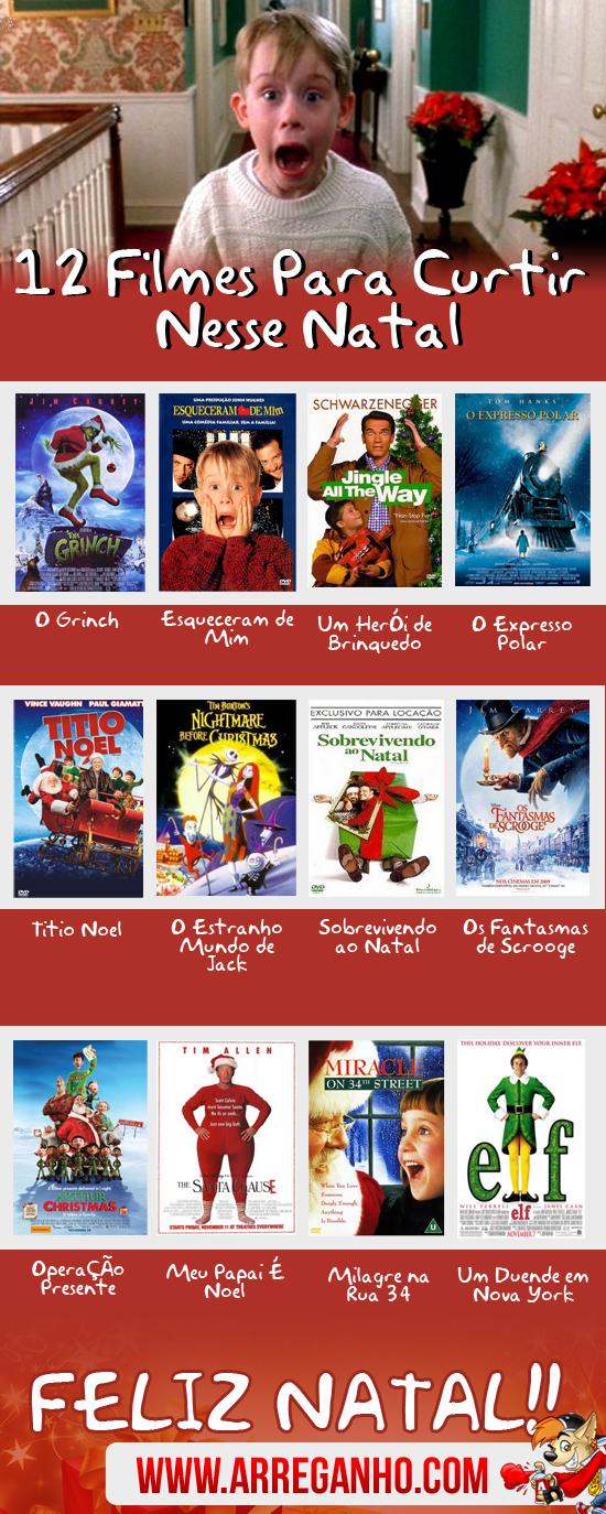 12 Filmes Para Você Curtir Nesse Natal