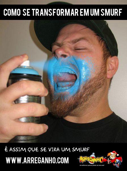 Como Se Transformar em um Smurf
