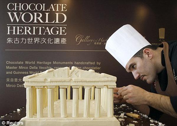 A volta ao mundo em chocolate