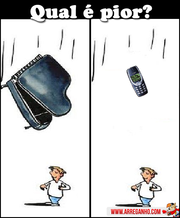 Nokia 3310 ou piano?