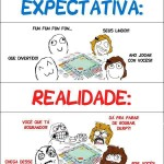 Expectativa X Realidade: Jogando Com os Amigos