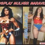 Expectativa X Realidade: Cosplay da Mulher Maravilha