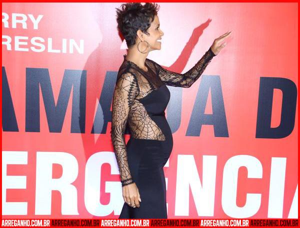 Top 10: Celebridades que Serão Mamães - Halle Berry