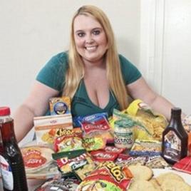 Americana sonha ser Obesa Mais Bonita da Web