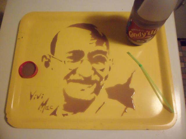 Pinturas Incríveis Feitas Com Alimentos, Bebidas e Ingredientes