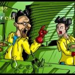 30 Ilustrações Fantásticas da série Breaking Bad