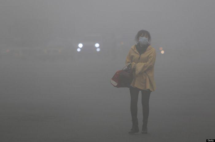 Imagens Assustadoras Da Poluição Na China