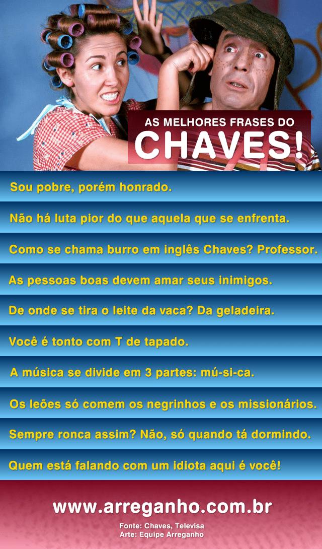 As melhores frases do Chaves!