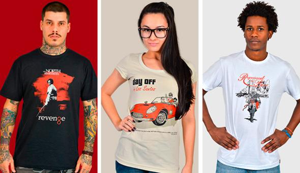 A nova coleção de camisetas da NSFW acaba de chegar