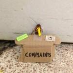 Contratamos um novo funcionário para atender suas reclamações
