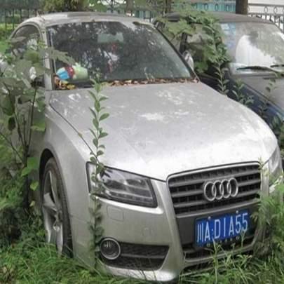 Os incríveis carros de luxo abandonados em Dubai