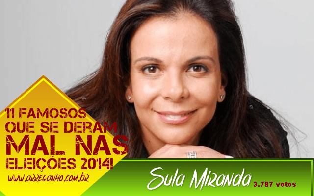 11 Famosos que se deram mal nas Eleições 2014!
