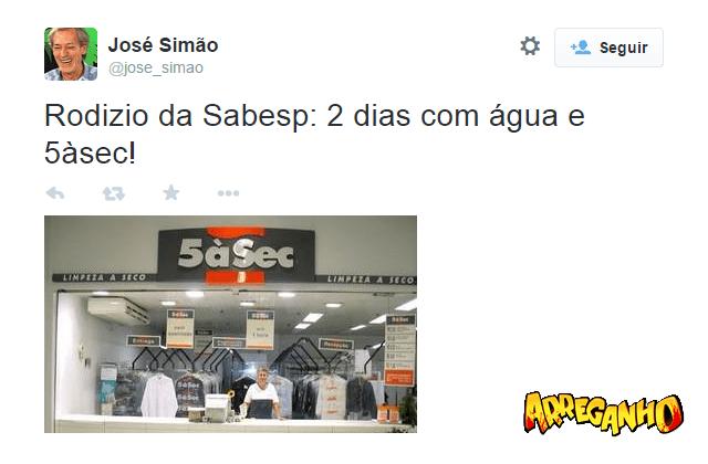 8 Melhores comentários sobre o rodízio de água em São Paulo