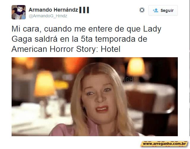 Melhores comentários sobre Lady Gaga em American Horror Story