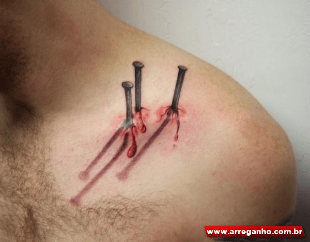 9 Tatuagens incríveis com efeito 3D