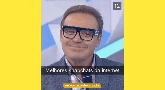 Os 12 melhores snapchats da Internet