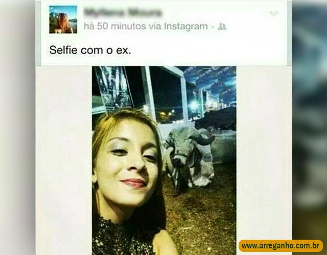 Selfie com o ex